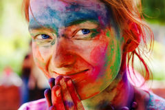 Holi festival Royalty Free Stock Images