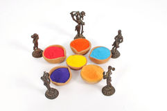Holi Festival von Farben Stockfoto