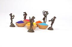 Holi Festival von Farben Stockbild