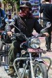 Holi-Festivalgesichter Stockfotografie