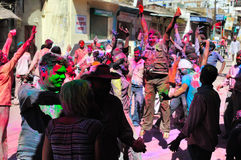 Holi Festivities Stock Photo
