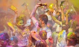 Holi, festiwal kolory Zdjęcia Stock