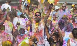 Holi, festiwal kolory Zdjęcie Stock