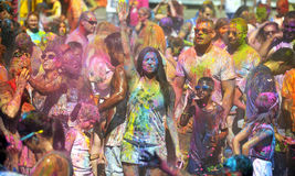 Holi, festiwal kolory Zdjęcia Royalty Free