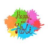 Holi festiwalu India wektoru tło royalty ilustracja