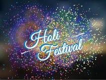 Holi-Frühlingsfest Stockfotos