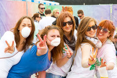 Holi Gaudy Festival, Stuttgart May 10th, 2014 Stock Images