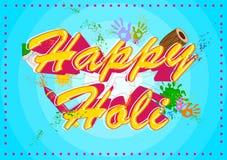 Holi heureux, festival de couleurs Photos libres de droits