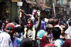 Holi Hindus festiwal Obraz Royalty Free