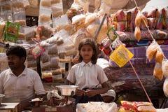 holi hindusa rynku wąż Obrazy Royalty Free
