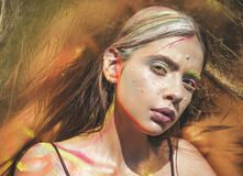 Holi, indian culture royalty free stock photo