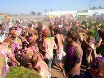 Holi koloru festiwal Obraz Royalty Free