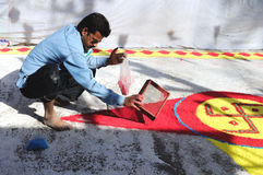 Holi Painting Royalty Free Stock Photo