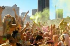Holi un festival Immagine Stock Libera da Diritti
