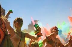 Holi un festival Immagine Stock