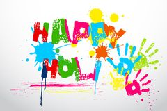 Holi Wallpaper Royalty Free Stock Photos
