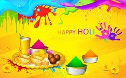 Holi wallpaper Royalty Free Stock Photography