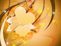Holiday. Abstract background valentine with heart Royalty Free Stock Images