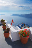 Holiday. Taken on island santorini, Greece. In the hotel we lived in Stock Photography