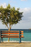 Holiday. A romantic rest in Crete near sea Royalty Free Stock Photo