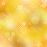 Holiday abstract background. Abstract background of golden holiday lights stock illustration