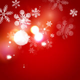 Holiday abstract background, winter snowflakes Stock Photos