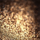 Holiday abstract glitter background with blinking lights  Stock Images