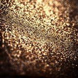 Holiday abstract glitter background with blinking lights Royalty Free Stock Photography