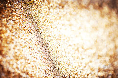 Holiday abstract glitter background with blinking lights  Royalty Free Stock Photos