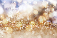holiday abstract glitter background Stock Images