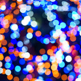 Holiday abstract lights Royalty Free Stock Photo