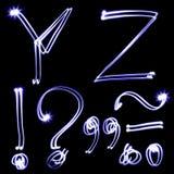 Holiday alphabet Royalty Free Stock Photo