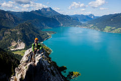 Holiday in the Alps Stock Photos