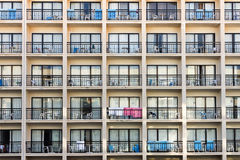 Holiday apartment block Stock Photo