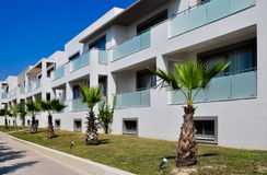 Holiday apartments in Greece. Zakynthos Royalty Free Stock Photography
