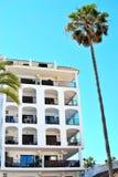 Holiday apartments in La Duquesa in Spain. Holiday apartments in La Duquesa, Costa del Sol, Spain stock photos