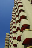 Holiday apartments in Playa d'Aro Spain Royalty Free Stock Photos