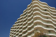 Holiday apartments in Playa d'Aro Spain Stock Image