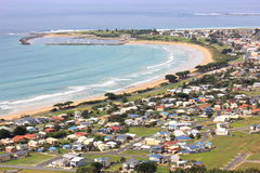 Holiday in Apollo bay Stock Photography