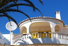Holiday Appartment. An attractive holiday apartment in Algarve, Portugal Royalty Free Stock Photo