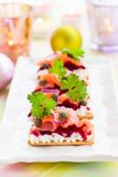 Holiday appetizer Royalty Free Stock Photo