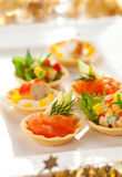 Holiday Appetizers Royalty Free Stock Photos