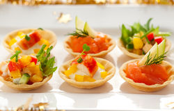 Holiday Appetizers Royalty Free Stock Photography