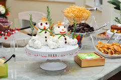 Holiday Appetizers Stock Images