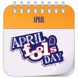 Holiday April Fools Day Stock Photo