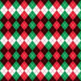 Holiday Argyle Design Royalty Free Stock Images