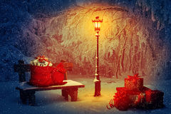 Holiday atmosphere royalty free stock photo
