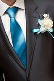 Holiday attire groom at  wedding. Royalty Free Stock Photos