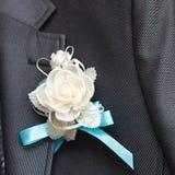 Holiday attire groom at  wedding. Holiday attire groom at a wedding Stock Photography