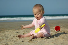 Holiday baby Stock Images